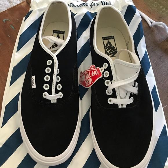 Vans Shoes   Vans 5 Wide Black Suede